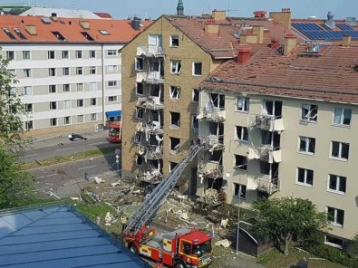 İsveç'te korkutan patlama