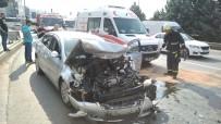 KALP MASAJI - Kalp Krizi Geçiren Sürücü Kazada Hayatını Kaybetti