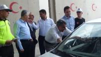 TRAFİK KURALLARI - Kaymakam Özkan Sürücüleri Şekerlemeyle Karşıladı