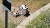 Otomobil Köprüden Dereye Düştü Açıklaması 1 Yaralı