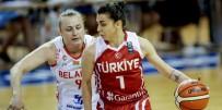 LETONYA - A Milli Kadın Basketbol Takımı, Hazırlık Maçında Belarus'u Mağlup Etti