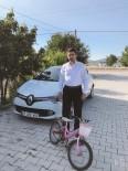 Antalya'da Muhtardan Çocuklar İçin Bisiklet Kampanyası