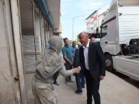 Belediye Başkanı Altın'dan Esnaf Ziyareti