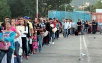 KOLOMBIYA - Binlerce Venezuelalı Ülkeyi Terk Ediyor