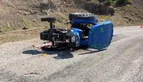 Çorum'da Traktör Devrildi Açıklaması 1 Ölü, 3 Yaralı