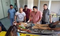 Diyarbakır'da Tarım İşçilerini Taşıyan Kamyonet Devrildi Açıklaması 35 Yaralı