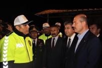 İçişleri Bakanı Soylu Eskişehir'de Trafik Denetimine Katıldı