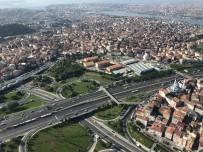 FATIH SULTAN MEHMET - İstanbul'da Polis Helikopteriyle Bayram Dönüşü Trafik Denetimi