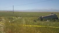 Kahramanmaraş'ta Otomobil Buğday Tarlasına Uçtu Açıklaması 3 Ölü, 4 Yaralı