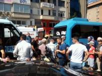 BAĞDAT - Maltepe'de Bir Minibüs, Yolcu Dolu Minibüse Çarptı Açıklaması 5 Yaralı