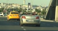 CANLI YAYIN - (Özel) Yol Boyunca Canlı Yayın Yaptılar, Trafiktekilerin Canını Hiçe Saydılar