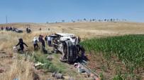 Tarım İşçilerini Taşıyan Kamyonet Devrildi Açıklaması 35 Yaralı