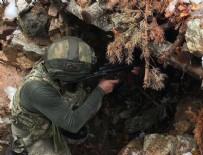 Tunceli'de mağaraya sıkıştırılan 5 terörist etkisiz hale getirildi
