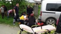 KALP MASAJI - Düzce'de Hafif Ticari Araç İle Motosiklet Çarpıştı Açıklaması 1 Ölü