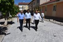 Başkan Bozkurt, Kilit Taş Çalışmalarını İnceledi