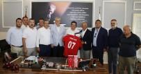 Başkan Genç, Antalyaspor Derneği'ni Ve Yönetimi Ağırladı