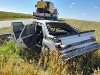 Eskişehir'de Trafik Kazası Açıklaması 1 Ölü, 2 Yaralı
