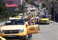 Karlıova'da Taksiciler Kontak Kapattı