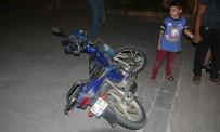 Kilis'te Motosiklet İle Otomobil Çarpıştı Açıklaması 1 Yaralı