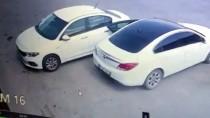 Kırıkkale'de Otomobillerden Hırsızlık Güvenlik Kamerasında