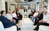 SÜRYANI - Süryani Cemaati Liderleri Başkan Kılınç'ı Ziyaret Etti