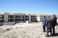 Bayburt'ta 200 Kişilik Göçmen Geri Gönderme Merkezinin Yapımı Devam Ediyor