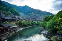 Çin'in Doğa Harikası Köyünde Balık Avlama Festivali