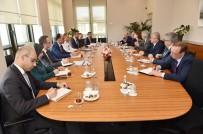 GÜVENLİ BÖLGE - Cumhurbaşkanlığı Sözcüsü Kalın, Rusya Federasyonu Suriye Özel Temsilcisini Kabul Etti