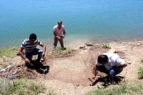 Dalgaların Dövdüğü Kıyıda Tarihi Mozaik Gün Yüzüne Çıktı