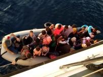 KAÇıŞ - Didim'de Bir Gecede 73 Göçmen Yakalandı