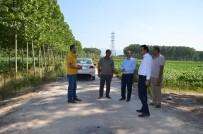 FEVZI KıLıÇ - Erenler'de Tarla Yollarında Hummalı Çalışma