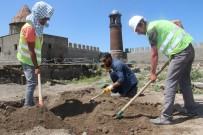 Erzurum Kalesi'nde Tarihi Kazı