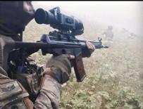 Haftanin bölgesinde 15 terörist etkisiz hale getirildi