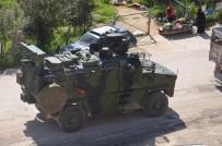 Hatay'dan Sınıra Askeri Sevkiyat Devam Ediyor