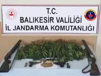 KURUSIKI TABANCA - Jandarmadan Uyuşturucuya Geçit Yok