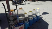 SEYYAR SATICILAR - Konya'da Yasa Dışı Sülük Satışına 13 Bin Lira Ceza