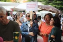Mahalle Kadınlarından Pazarda Baz İstasyonu Protestosu