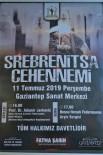 Srebrenitsa Katliamında Hayatını Kaybedenler Gaziantep'te Anılacak