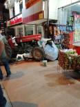 Traktör Markete Daldı