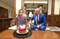 Vali Varol'dan Böbrek Hastası Çocuğa Sürpriz Doğum Günü