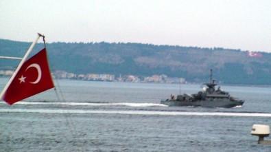 Yunan savaş gemisinde ilginç detay