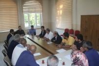 Ağrı'da MTSK Temsilcileriyle İstişare Toplantısı