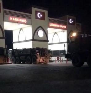 Askeri sevkıyatlar gece gündüz devam ediyor