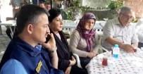 TRAFİK POLİSİ - Bakan Pakdemirli'den Şehit Üsteğmenin Ailesine Taziye Ziyareti