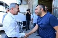 Başkan Çınar, Esnafları Ziyaret Ederek Sorunları Dinledi