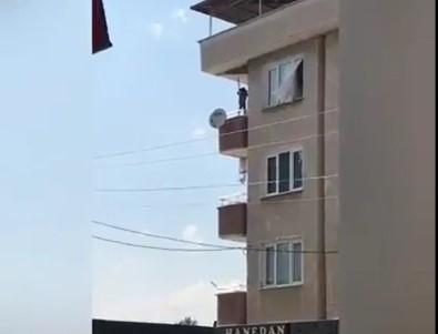 Bursa'da yürekleri ağza getiren görüntü!