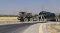 Fırat'ın Doğusuna Fırtına Obüs Ve Tank Sevkıyatı