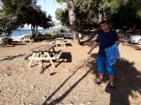 DİLEK YARIMADASI - Günübirlikçiler Milli Parkı Kirletip Gitti