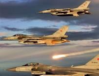 Irak kuzeyine hava harekatında 5 terörist etkisiz hale getirildi