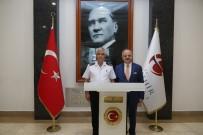 BEKİR ŞAHİN TÜTÜNCÜ - Jandarma Genel Komutanı Çetin, Vali Çakacak'ı Ziyaret Etti
